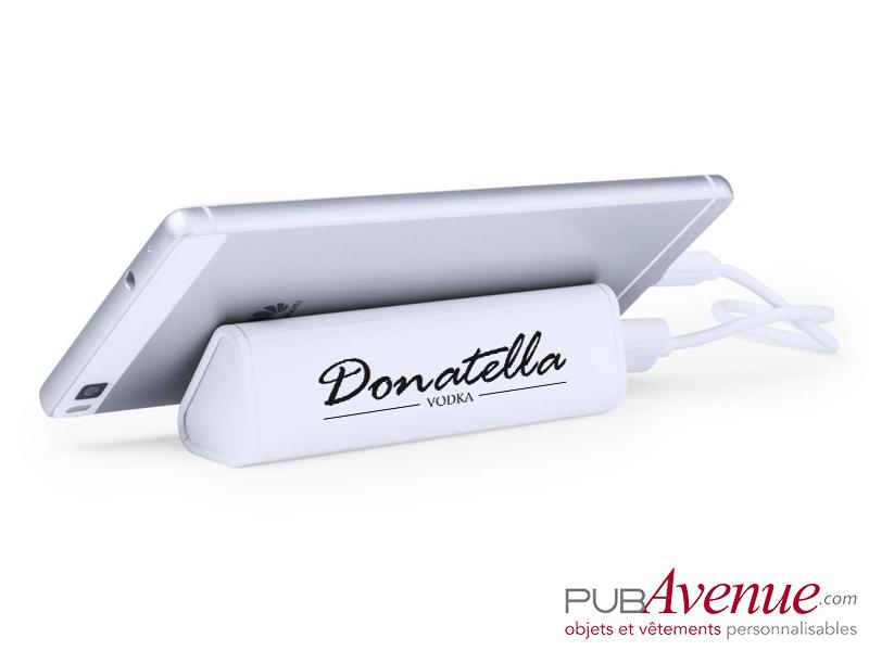 Chargeur externe portable 2200mAh personnalisé