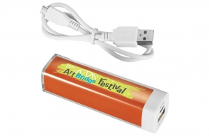 Power bank publicitaire personnalisable 2200 mAh