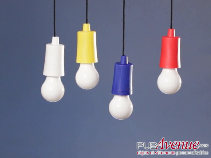 Lampe led personnalisable camping