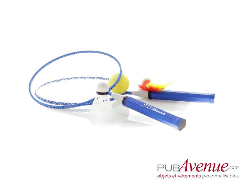 Set badminton personnalisé de plage