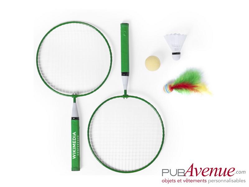 Set badminton de plage personnalisé