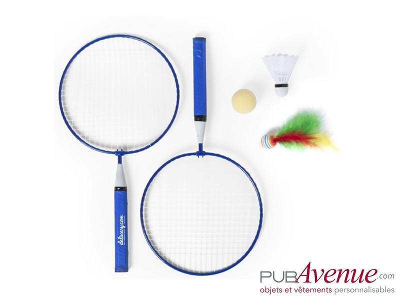 Set badminton personnalisable de plage