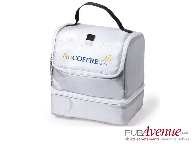 Glacière isotherme personnalisée transport lunch box