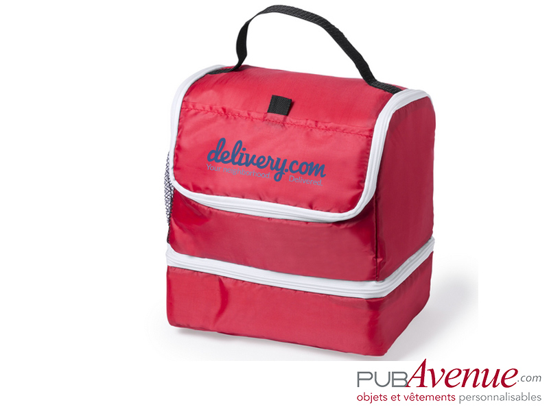 Glacière isotherme personnalisable transport lunch box