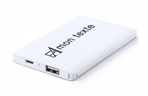 Powerbank 2000 mAh batterie de secours personnalisable