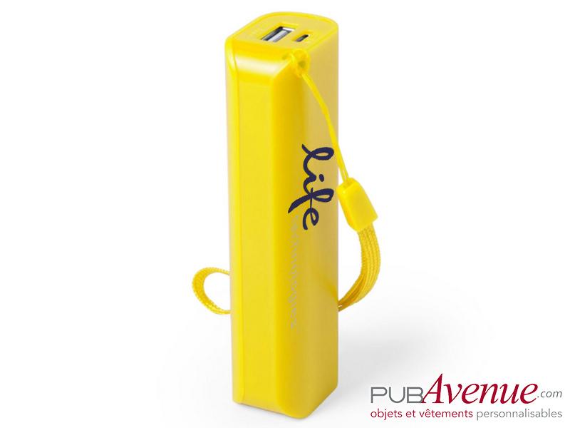 Batterie de secours 1200mAh personnalisable
