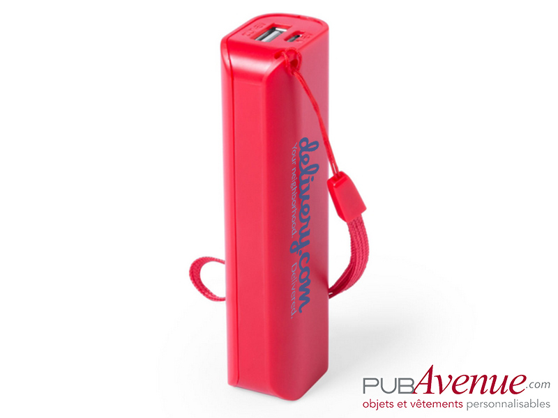 Batterie de secours personnalisable 1200mAh