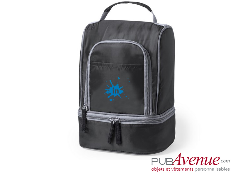 Sac isotherme personnalisé transport lunch box