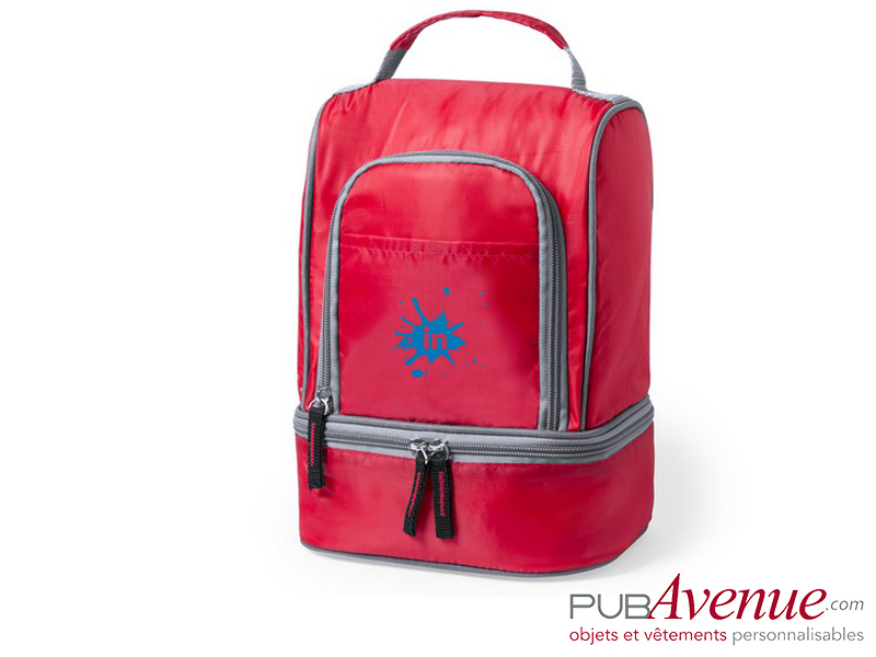 Sac isotherme personnalisable transport lunch box