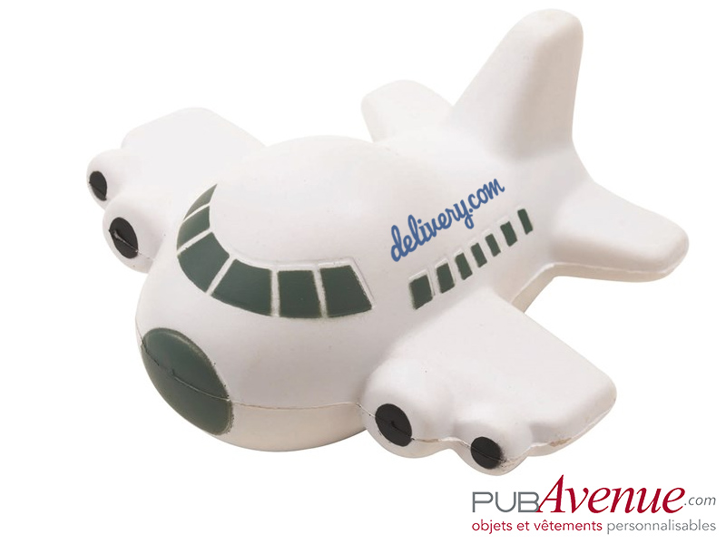 Avion anti-stress publicitaire