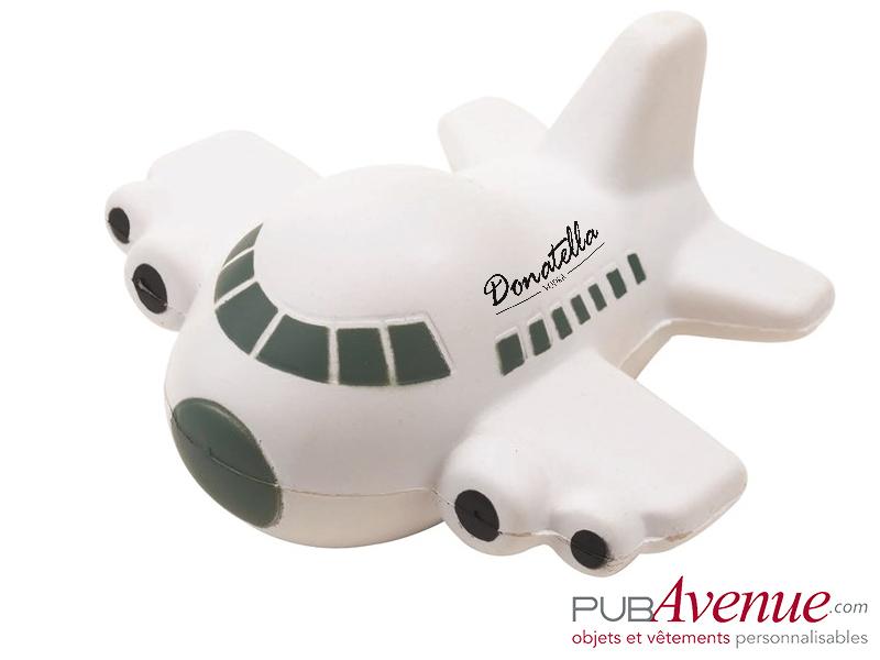 Avion anti-stress personnalisé