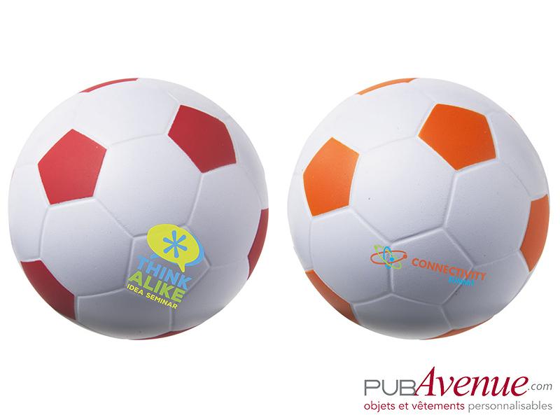 Balle personnalisée anti-stress ballon de foot