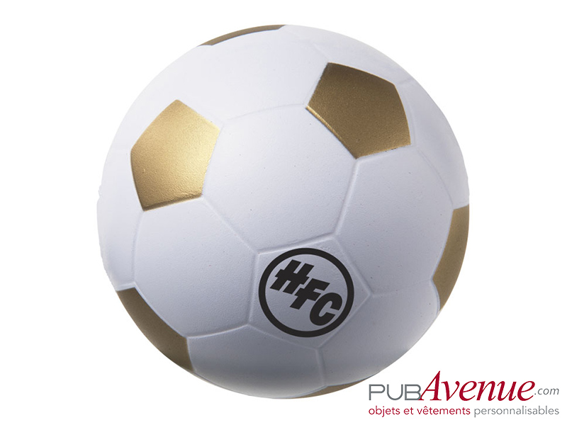 Balle anti-stress ballon de foot publicitaire