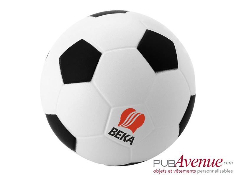 Balle anti-stress ballon de foot personnalisé