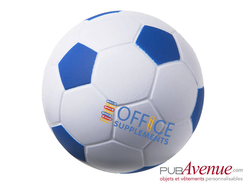 Balle anti-stress ballon de foot personnalisable