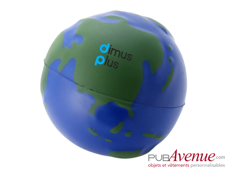 Globe anti-stress publicitaire