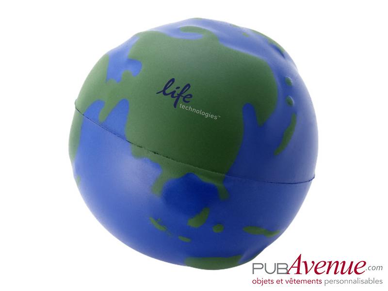 Globe anti-stress personnalisé