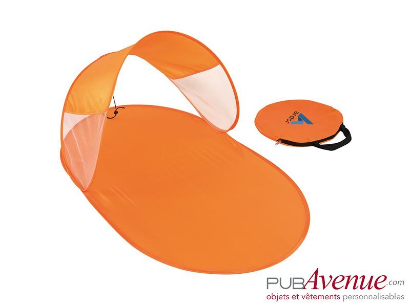 Tente de plage automatique personnalisable