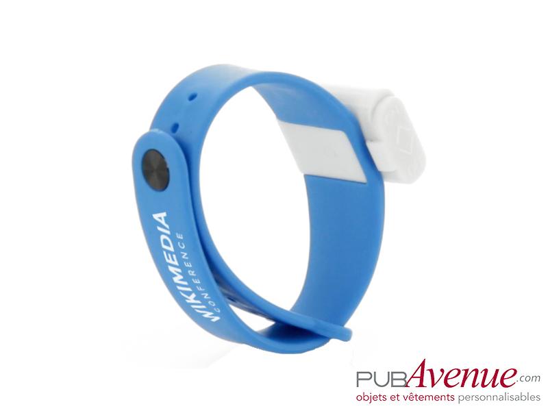 Bracelet personnalisé anti moustique