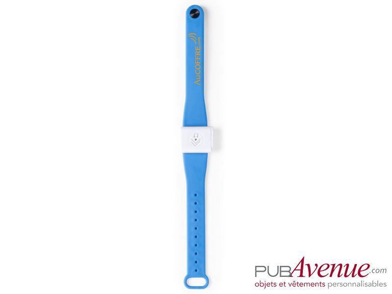 Bracelet personnalisable anti moustique