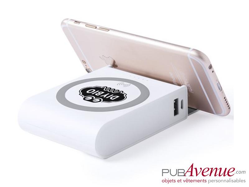 Chargeur sans fil personnalisé 8000 mAh