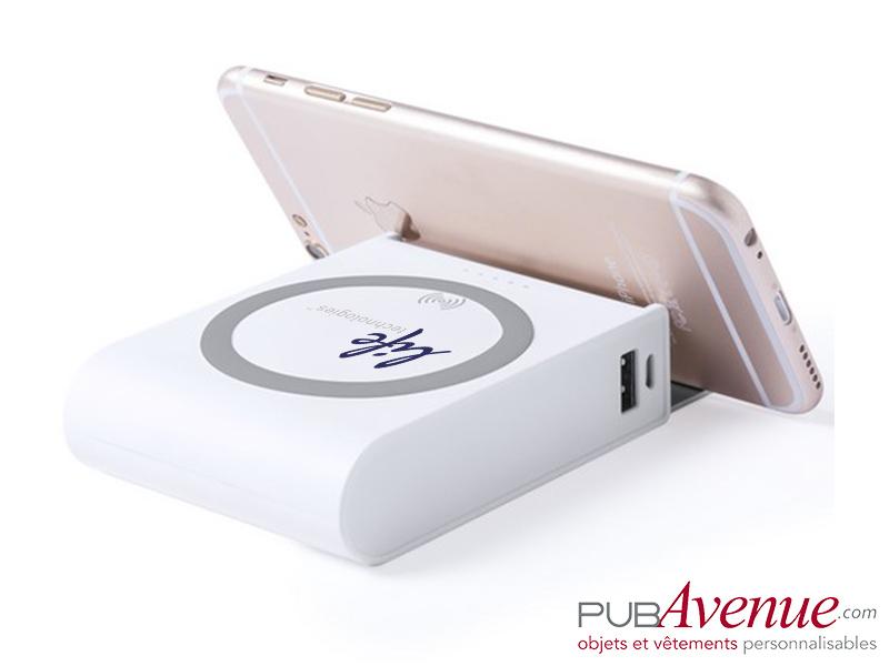 Chargeur sans fil 8000 mAh personnalisable
