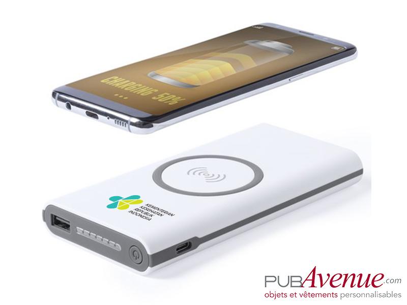 Chargeur sans fil personnalisé 6000 mAh