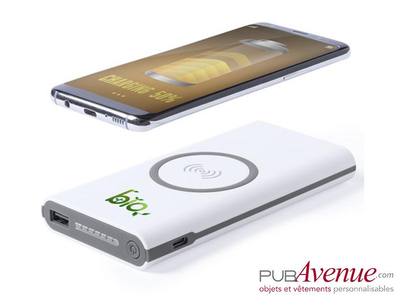 Chargeur sans fil 6000 mAh personnalisable