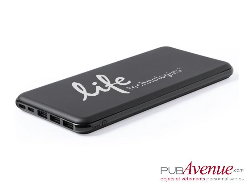 Powerbank 3 sorties USB personnalisé 20000 mAh