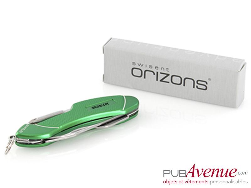 Couteau canif 7 fonctions personnalisable