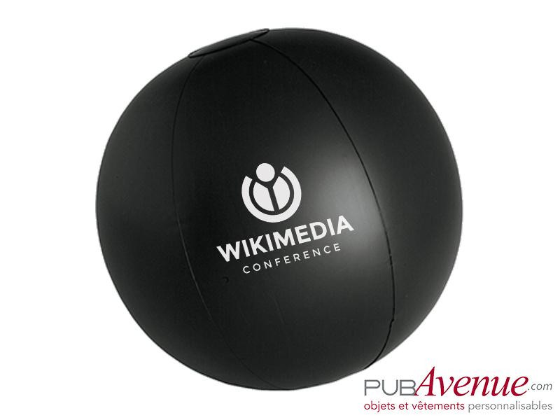Ballon plage piscine gonflable publicitaire