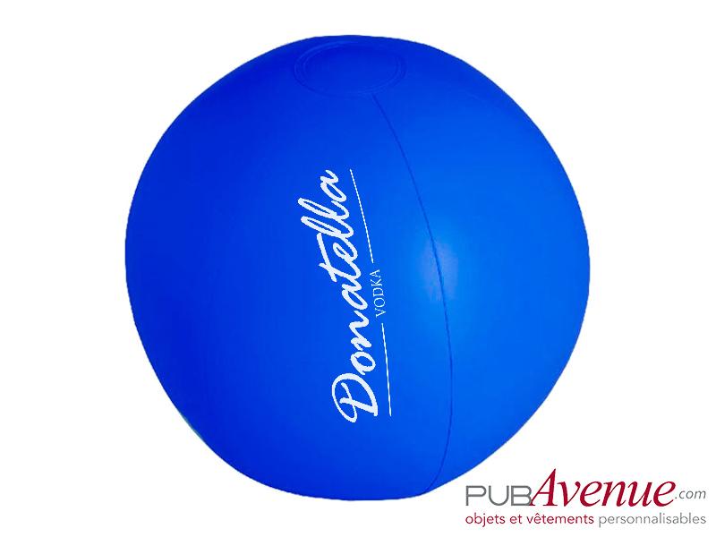 Ballon plage piscine gonflable personnalisé