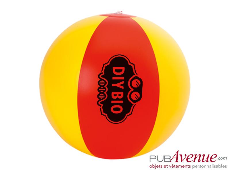 Ballon plage piscine gonflable personnalisable