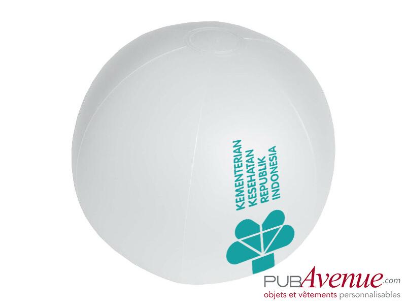 Ballon plage piscine publicitaire gonflable