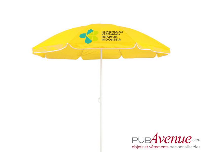 Parasol personnalisé de plage