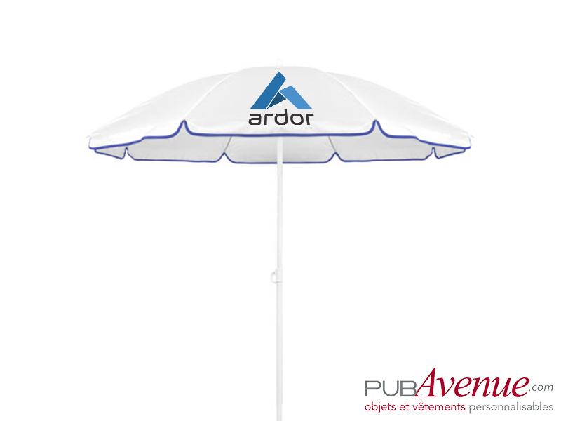 Parasol de plage personnalisé