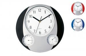 Horloge pendulette publicitaire personnalis avec logo - Horloge murale personnalisable ...