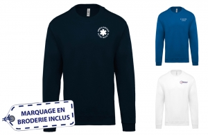 Sweat ambulancier mixte