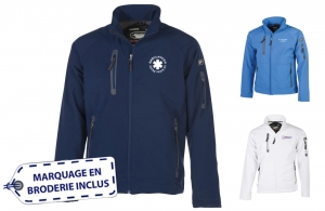 Veste Soft Shell homme pour ambulancier