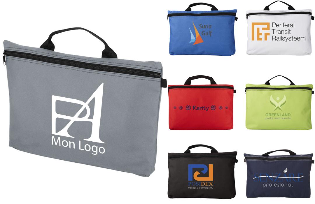 Sacoche personnalis e pour entreprise logo publicitaire for Idees entreprise lucrative