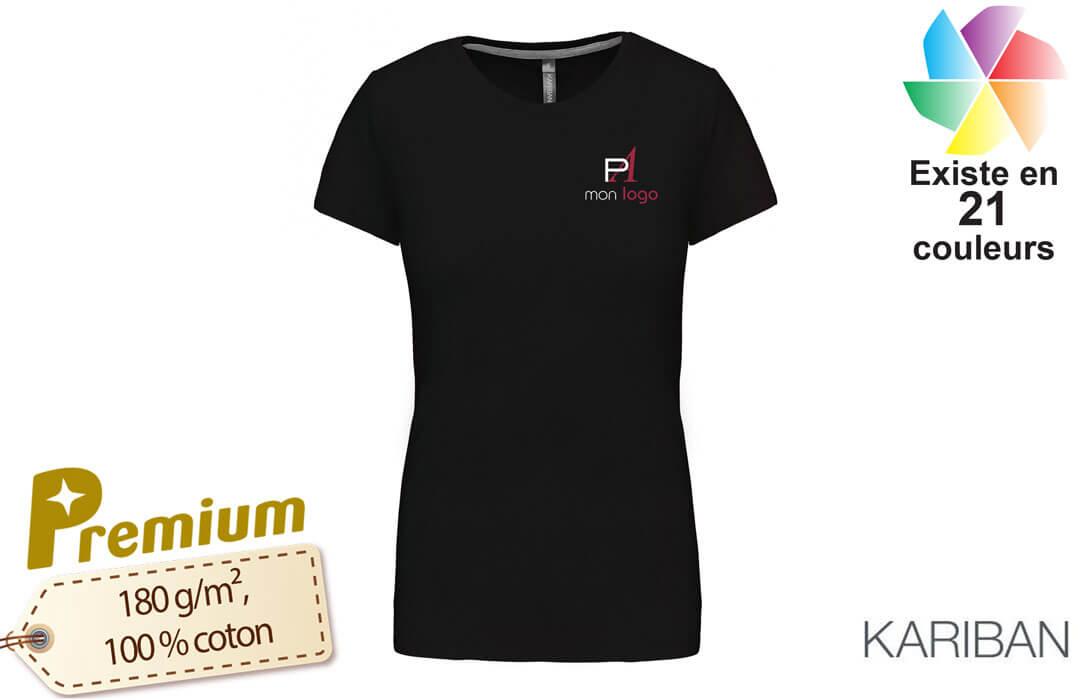 acheter authentique meilleur choix Acheter Authentic T-shirt femme personnalisable pour artisan