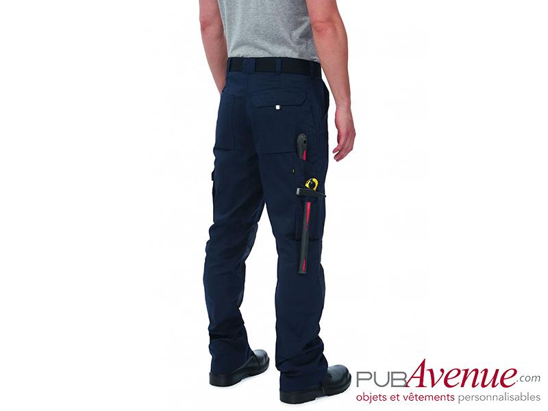 Pantalon professionnel B&C Pro personnalisable