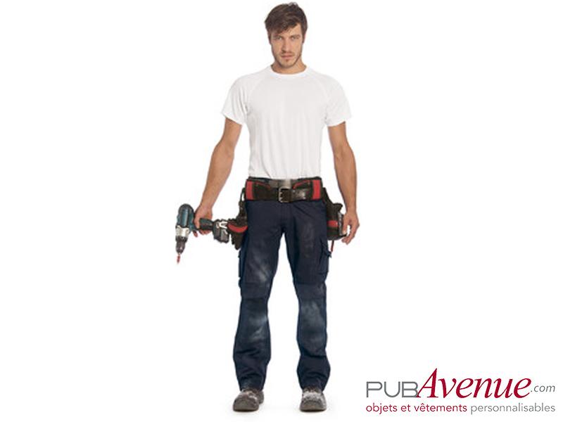 Pantalon professionnel B&C Pro personnalisé