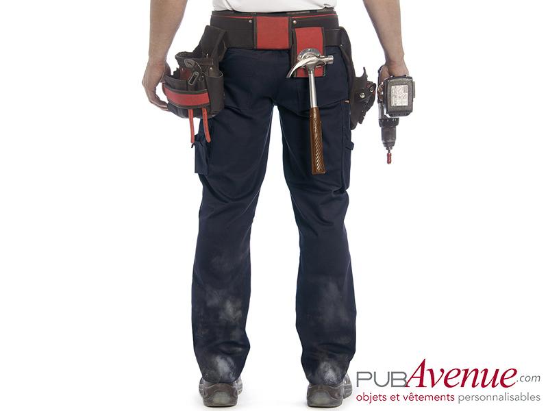 Pantalon professionnel B&C Pro publicitaire