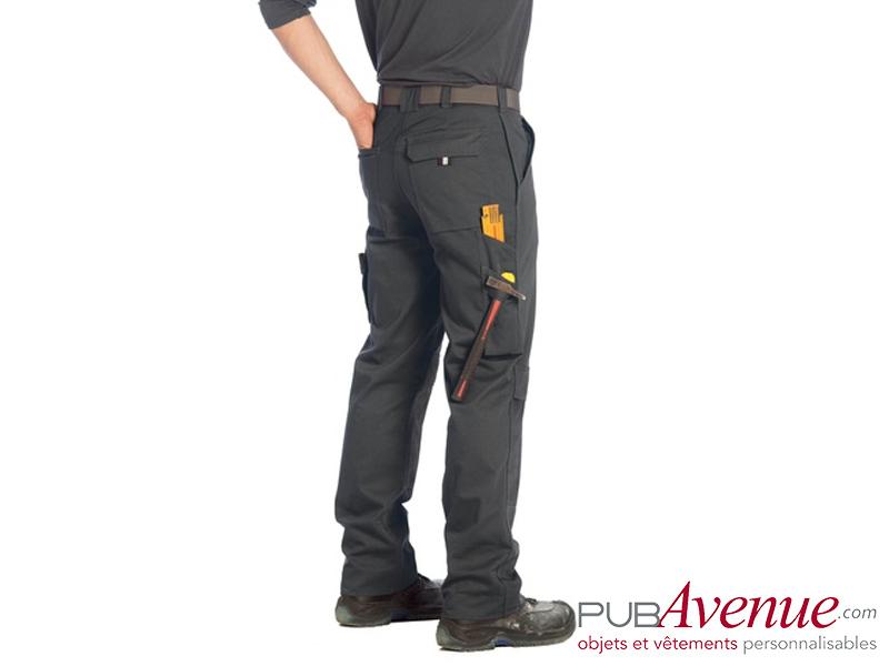 Pantalon personnalisable professionnel B&C Pro