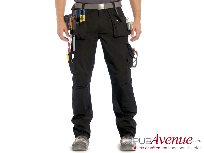 Pantalon professionnel personnalisé multipoches