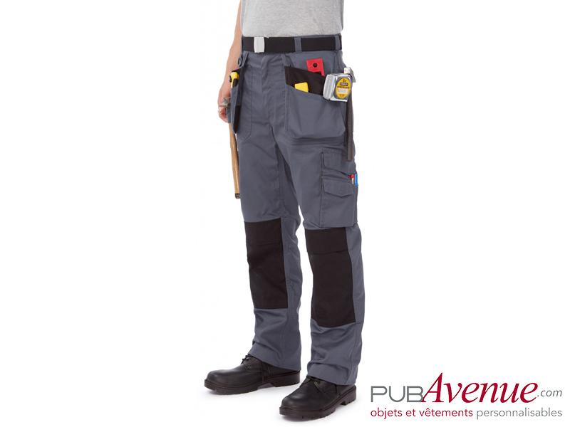 Pantalon professionnel personnalisable multipoches