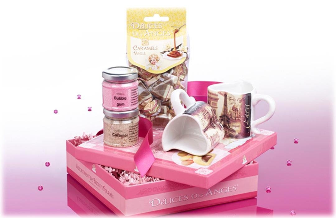 Panier Cadeau Café : Coffret cadeau pause caf? et biscuits sucr?s
