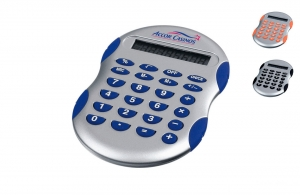 Calculatrice en plastique