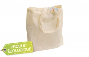 Sac shopping en coton biodégradable